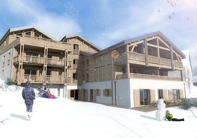 Accommodation Chalet Nuance De Blanc