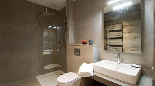 Rent in ski resort Chalet Nuance de Blanc - Alpe d'Huez - Shower room