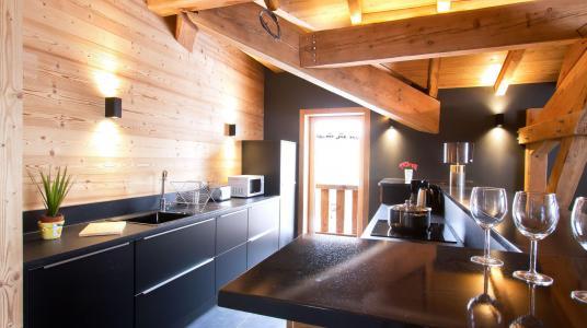 Rent in ski resort Chalet Nuance de Bleu - Alpe d'Huez - Kitchen
