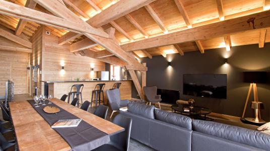 Rent in ski resort Chalet Nuance de Bleu - Alpe d'Huez - Table