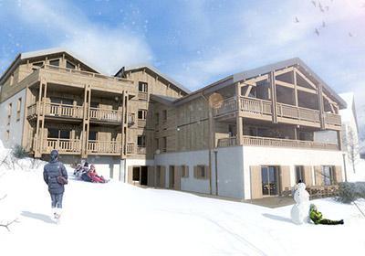 Location Alpe d'Huez : Chalet Nuance De Gris hiver