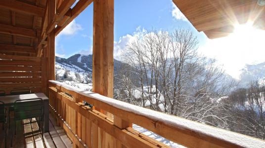 Rent in ski resort Chalet Nuance de Gris - Alpe d'Huez - Winter outside