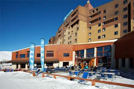 Location au ski Hotel Club Mmv Les Bergers - Alpe d'Huez - Extérieur hiver