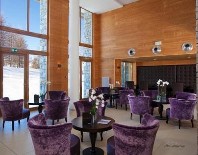 Location au ski Hotel L'alpenrose - Alpe d'Huez - Coin séjour