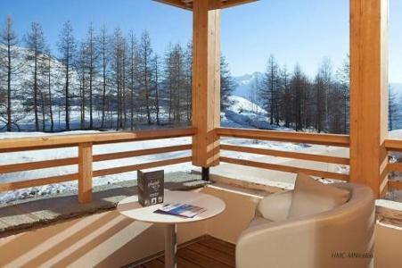 Location au ski Hotel L'alpenrose - Alpe d'Huez - Terrasse