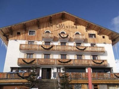 Location au ski Hotel Le Christina - Alpe d'Huez - Extérieur hiver