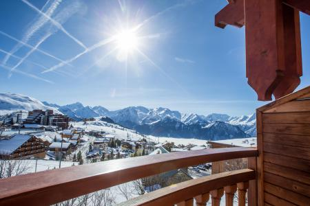 Soggiorno sugli sci Hôtel les Grandes Rousses - Alpe d'Huez - Esteriore inverno