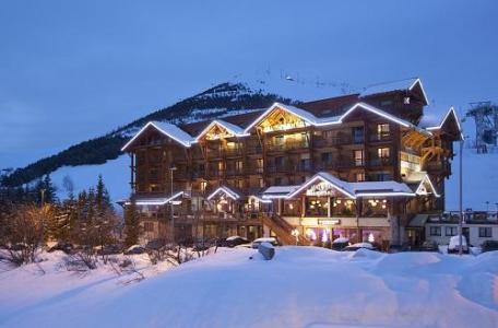 Location au ski Hotel Les Grandes Rousses - Alpe d'Huez - Extérieur hiver