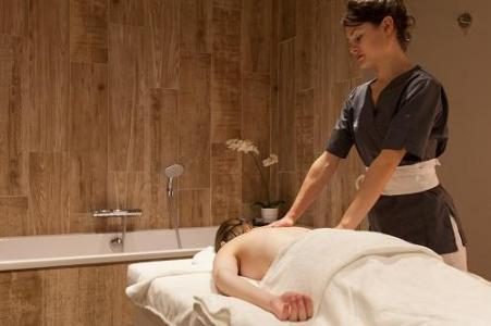 Location au ski Hotel Royal Ours Blanc - Alpe d'Huez - Massage