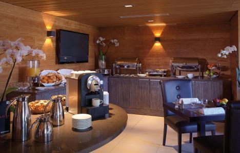 Rent in ski resort L'Alpenrose Lagrange - Alpe d'Huez - Bar