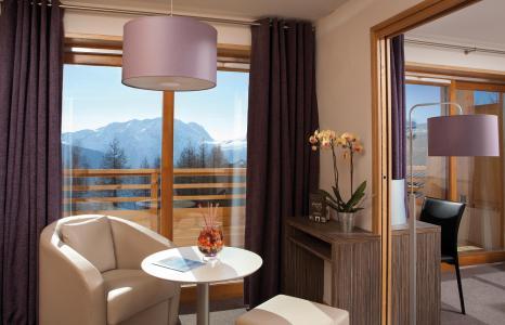 Rent in ski resort L'Alpenrose Lagrange - Alpe d'Huez - Living room