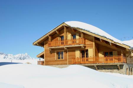 Vacances en montagne Les Chalets de l'Altiport - Alpe d'Huez - Extérieur hiver