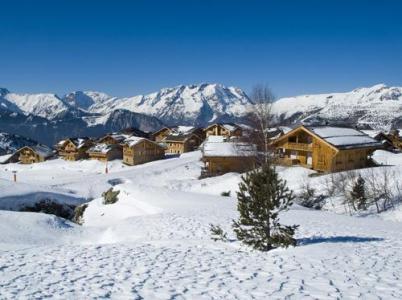 Location au ski Les Chalets De L'altiport - Alpe d'Huez - Extérieur hiver