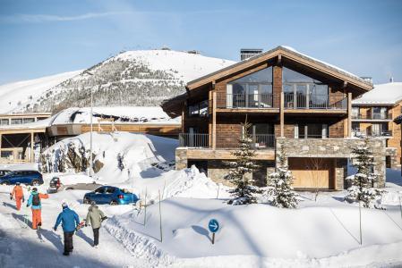 Location Alpe d'Huez : Les Chalets du Daria hiver