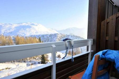 Vacances en montagne Résidence l'Ecrin d'Huez - Alpe d'Huez - Extérieur hiver