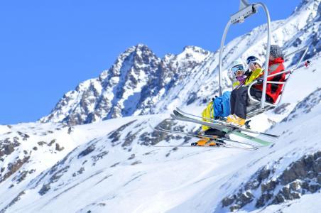 Location au ski Résidence l'Ecrin d'Huez - Alpe d'Huez - Extérieur hiver