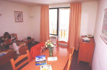 Location au ski Appartement 2 pièces cabine 6 personnes - Residence L'ecrin D'huez - Alpe d'Huez - Séjour