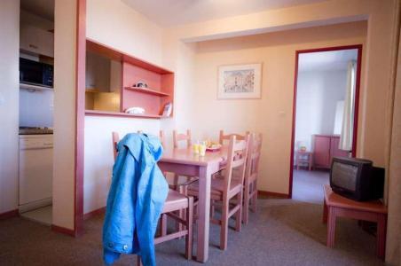 Location au ski Residence L'ecrin D'huez - Alpe d'Huez - Coin repas