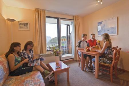 Location au ski Studio 4 personnes - Residence L'ecrin D'huez - Alpe d'Huez - Séjour