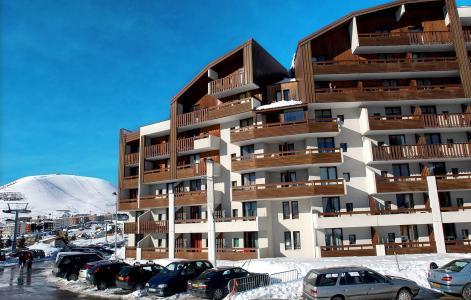 Location au ski Résidence le Christiania - Alpe d'Huez - Extérieur hiver