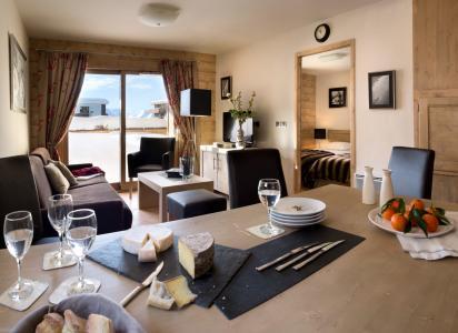 Rent in ski resort Résidence le Cristal de l'Alpe - Alpe d'Huez - Living room