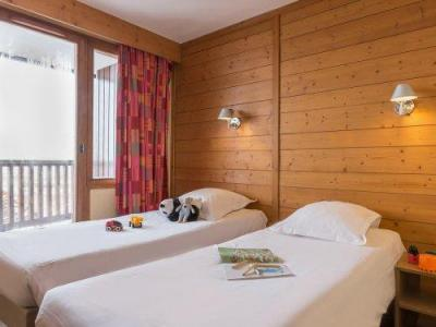 Location au ski Residence Pierre & Vacances L'ours Blanc - Alpe d'Huez - Lit simple