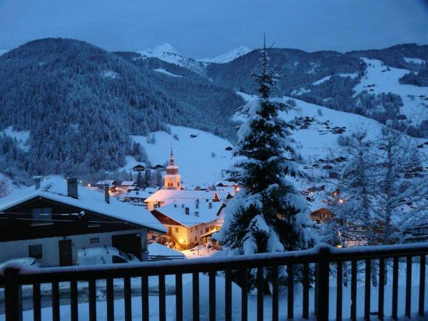 Ski en février Chalet Roche Plane