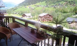 Location au ski Appartement 3 pièces 5 personnes (12) - Residence Alpina - Arêches - Balcon