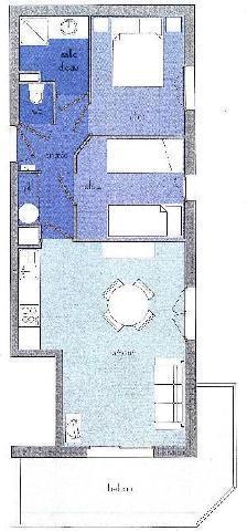 Location au ski Appartement 3 pièces 5 personnes (12) - Residence Alpina - Arêches - Plan