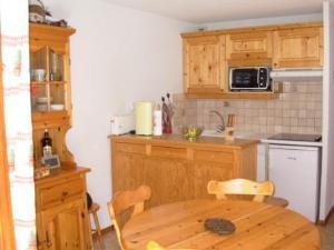 Location au ski Appartement 3 pièces 6 personnes (07) - Residence La Merande - Arêches-Beaufort - Coin repas