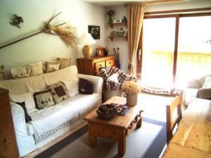 Location au ski Appartement 4 pièces 6 personnes (05) - Residence La Merande - Arêches-Beaufort - Séjour