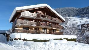 Location au ski Appartement 3 pièces 4 personnes (04) - Residence La Merande - Arêches-Beaufort - Extérieur hiver