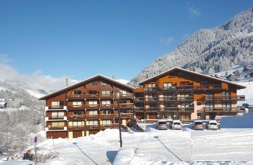 Location au ski Appartement 3 pièces 4 personnes (64) - Residence Oree Des Pres - Arêches-Beaufort - Extérieur hiver