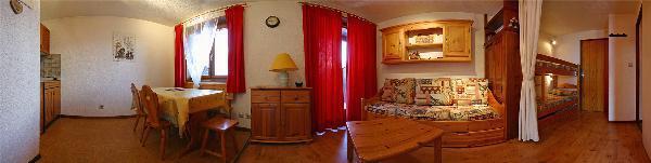 Аренда на лыжном курорте Квартира студия со спальней для 4 чел. (35) - Chalet les Solaret - Arêches-Beaufort