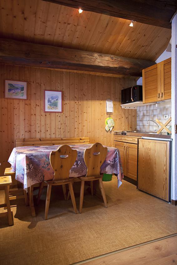 Аренда на лыжном курорте Квартира студия со спальней для 5 чел. (36) - Chalet les Solaret - Arêches-Beaufort