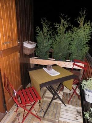 Аренда на лыжном курорте Апартаменты 3 комнат 6 чел. - Le Village de l'Argentine - Arêches-Beaufort - Стол и стулья для сада