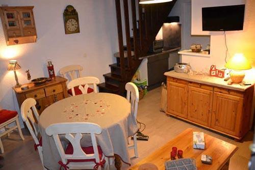 Аренда на лыжном курорте Апартаменты 3 комнат 6 чел. - Le Village de l'Argentine - Arêches-Beaufort - Салон