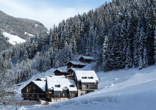 Soggiorno sugli sci Le Village de l'Argentine - Arêches-Beaufort - Esteriore inverno