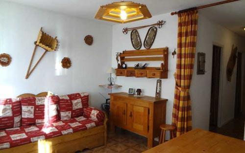 Soggiorno sugli sci Appartamento 3 stanze per 6 persone - Le Village de l'Argentine - Arêches-Beaufort - Soggiorno