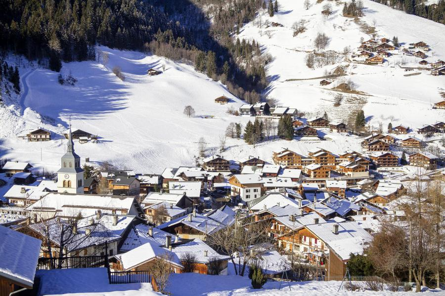 Location au ski Résidence Club MMV La Clé des Cîmes - Arêches-Beaufort - Extérieur hiver