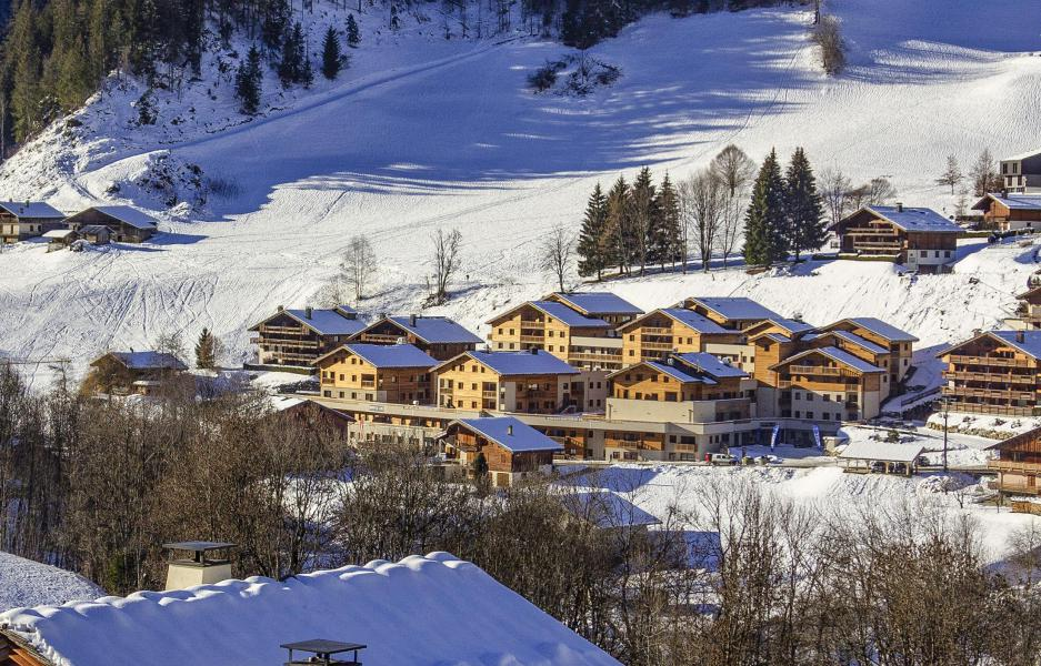 Alquiler al esquí Résidence Club MMV La Clé des Cîmes - Arêches-Beaufort - Invierno
