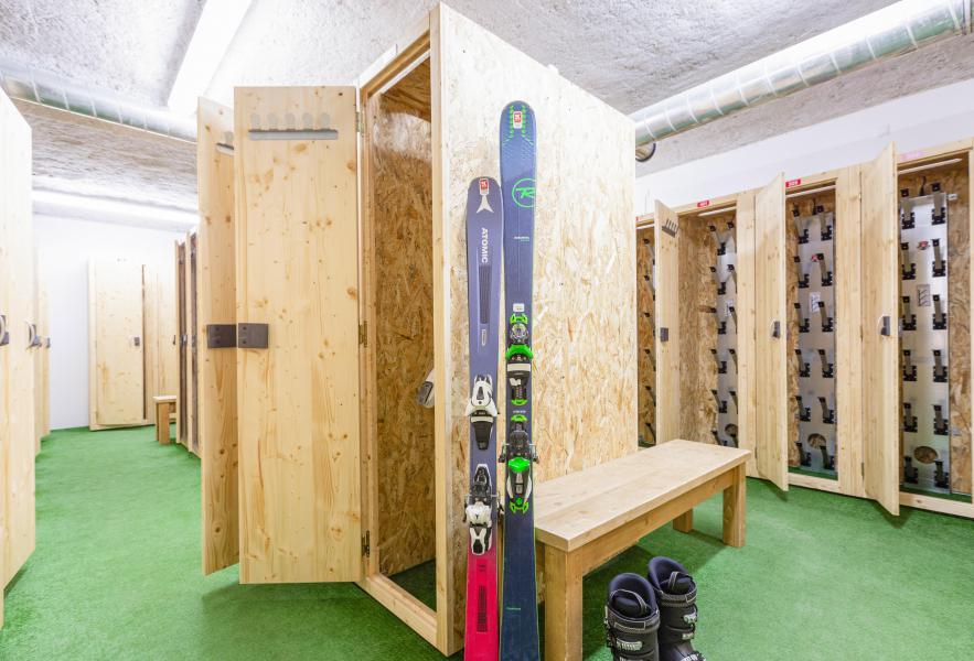 Location au ski Résidence Club MMV La Clé des Cîmes - Arêches-Beaufort - Casier à skis