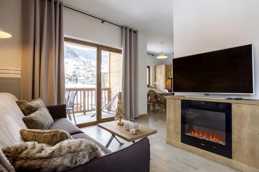 Alquiler al esquí Résidence Club MMV La Clé des Cîmes - Arêches-Beaufort - Estancia
