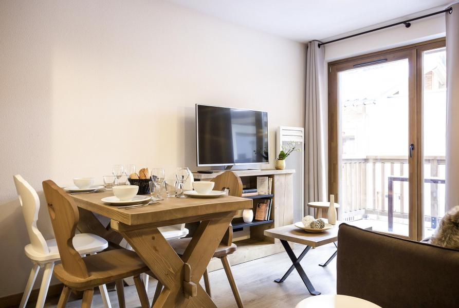 Rent in ski resort Résidence Club MMV La Clé des Cîmes - Arêches-Beaufort - Living room