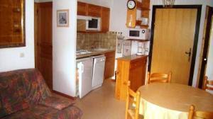 Аренда на лыжном курорте Апартаменты 2 комнат 4 чел. - Résidence l'Orée de la Combe - Arêches-Beaufort - Салон