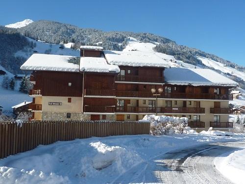Аренда на лыжном курорте Résidence le Val Blanc - Arêches-Beaufort - зимой под открытым небом