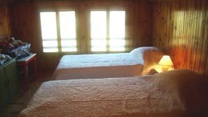 Location au ski Appartement 4 pièces mezzanine 8 personnes (64) - Chalet Areches - Arêches - Chambre