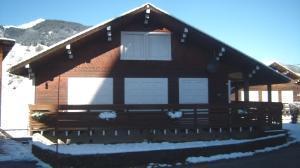Location au ski Appartement 4 pièces mezzanine 8 personnes (64) - Chalet Areches - Arêches - Extérieur hiver