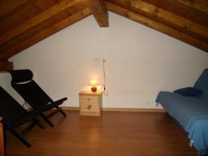Location au ski Chalet 4 pièces mezzanine 10 personnes (166) - Chalet La Pierre - Arêches-Beaufort - Mezzanine