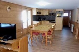 Location au ski Appartement 3 pièces 6 personnes (79) - Chalet Le Bois - Arêches - Séjour